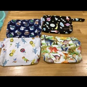 Baby bare Wet bags set of 4